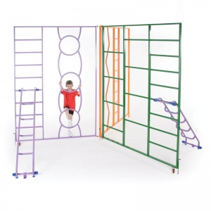 Rainbow Indoor Fixed Climbing Frame
