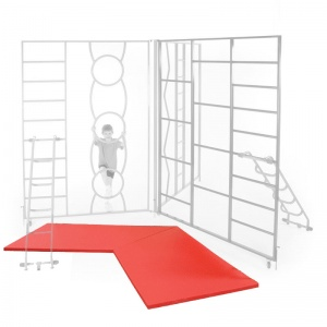 Mat Set for Rainbow Indoor Fixed Climbing Frame
