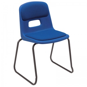 Remploy GH20 Skid-Base School Chair + Seat & Back Pad