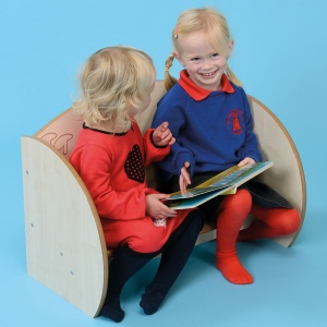 ''Mini'' Children's Wooden Bench Seat