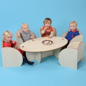 ''Mini'' Children's Wooden Table
