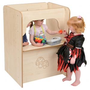 ''Mini'' Children's Wooden Role-play Kiosk