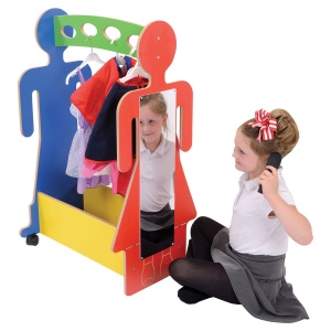 Children's Dress-Up Trolley - Multi-Colour