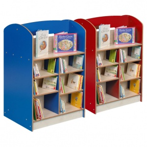 Double Sided 1200 Bookcase