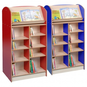 Double Sided 1500 Bookcase