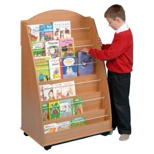 Face-On Book Display Unit