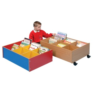 Floor Level Six Compartment Kinderbox
