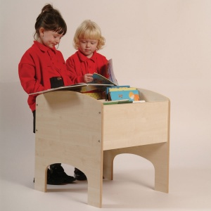 Four Compartment School Bookbox