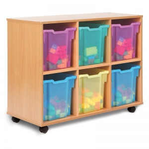 06J All Sorts Unit with 6 Jumbo Trays (Stackable)