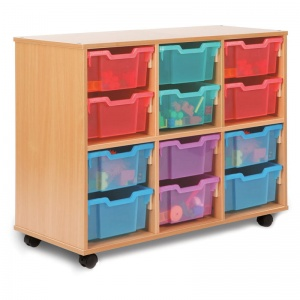 12D All Sorts Unit with 12 Deep Trays (Stackable)