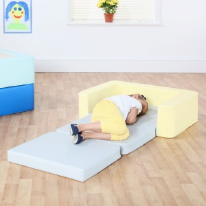 Snoozeland™ Sit & Rest - Pale Banana & Cloud Grey