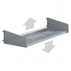 Technic Standard Shelf + Brackets & Back Stop