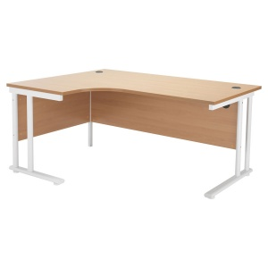 Start Crescent Cantilever Workstation Left