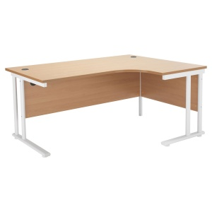 Start Crescent Cantilever Workstation Right