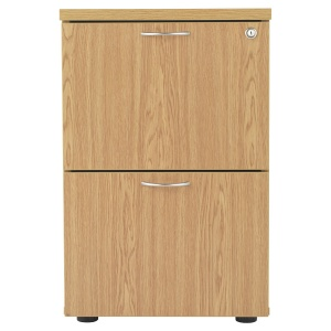 Essentials 2 Drawer Filing Cabinet - 710mm High