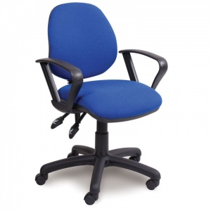 Advanced Mid-Back Office Chair + Fixed Armrests