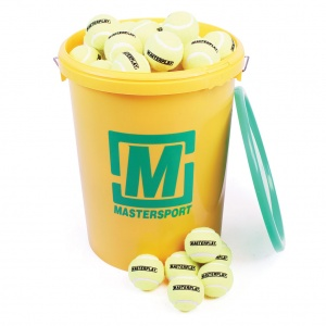 MasterPlay® Low-Compression Tennis Ball - 44G 65mm - Bucket Of 96