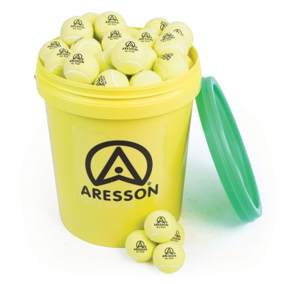 Aresson All Play Tennis Ball - 55G 62mm - Bucket Of 96