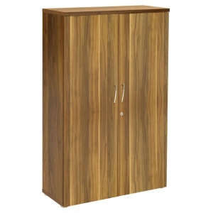 Regent Tall Cupboard - Dark Walnut