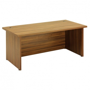 Regent Standard Executive Desk - Dark Walnut