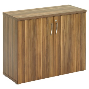 Regent Low Cupboard - Dark Walnut