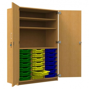 ''Tall'' 21 Shallow Tray Store + 2 Shelves