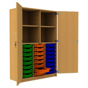 ''Tall'' 24 Shallow Tray Store + 1 Shelf