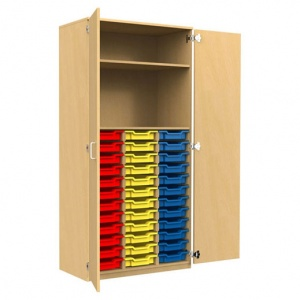 ''Tall'' 36 Shallow Tray Store + 1 Shelf