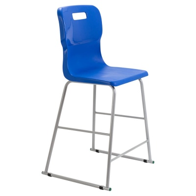 Titan School High-Stool + Backrest