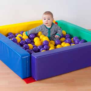 ''Spaces4Play'' Toddler Ballpool - Colour