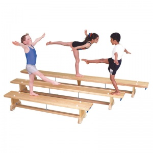 Traditional Wooden Balance Bench