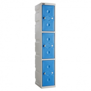 ULTRABOX® Three Door Plastic Locker