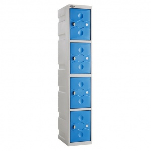 ULTRABOX® Four Door Plastic Locker