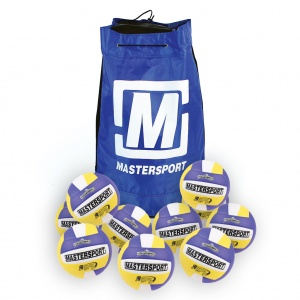 MasterSport Ultrasoft Volleyball - Size 5 - 280G - Bag Of 10