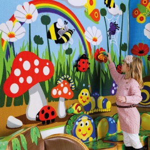 Back to Nature™ Interactive Children's Wall Display