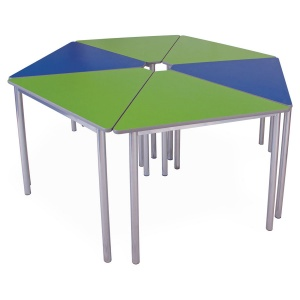 Advanced Chunky Wedge School Table