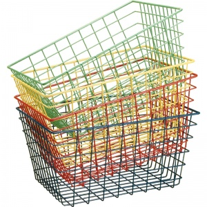 School Sports Storage Wire Basket