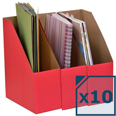 A4 Library Boxes (Pack of 10)