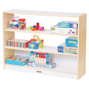 Alps Open Back 3 Shelf Classroom Unit