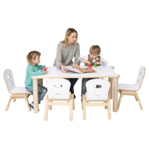 Alps Rectangular Children's Stacking Table