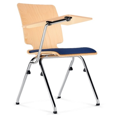 AXO Wood Lecture Chair + Seat Pad