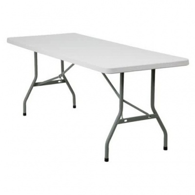 Basics Poly-Folding Table 1830 x 760mm