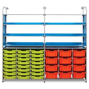 Callero Resources Store Extra + 24 Shallow & 12 Deep Trays