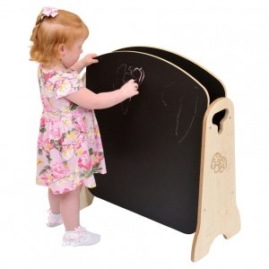 Children's Blackboard / Whiteboard Mini Easel