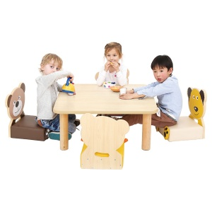 Children's Low Square Table