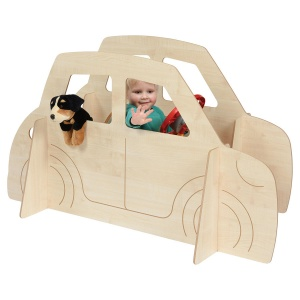 Children's Play Double Car Panel