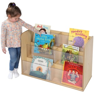 Solway Children's Single-Sided Perspex Book Box