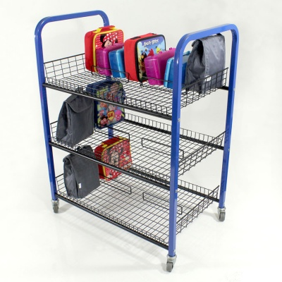 Double Sided Lunchbox Trolley