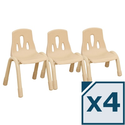 Elegant Children's Chair - Pack of 4