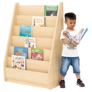 Elegant Tall Basic Book Classroom Storage